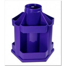 """Подставка для канц принадлежностей """"Maxi Desk"""" вращающаяся, фиолетовая"""