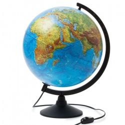 Глобус физический диаметр 320 мм с подсветкой