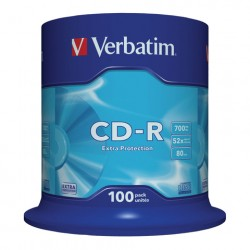 Диски CD-R VERBATIM 700Mb 52х