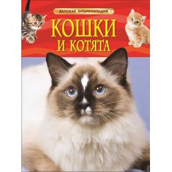 Детская энциклопедия А-4 Кошки и котята