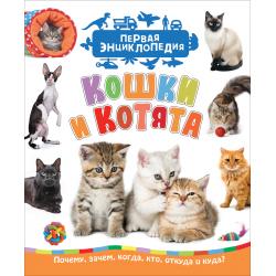 Первая энциклопедия Кошки и котята