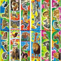 Закладки магнитные Животные