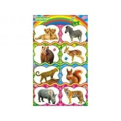 Наклейки Животные Светящиеся