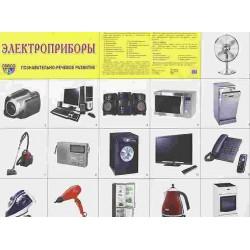 Демонстрационный плакат Электроприборы