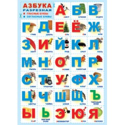 Плакат Азбука А2