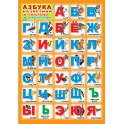 Плакат Азбука А3
