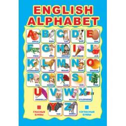 Плакат Английский алфавит А3
