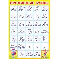 Плакат Прописные буквы А3